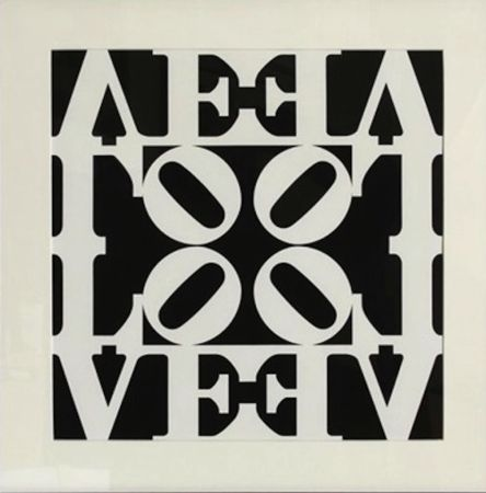 Сериграфия Indiana - Love, from Decade Portfolio
