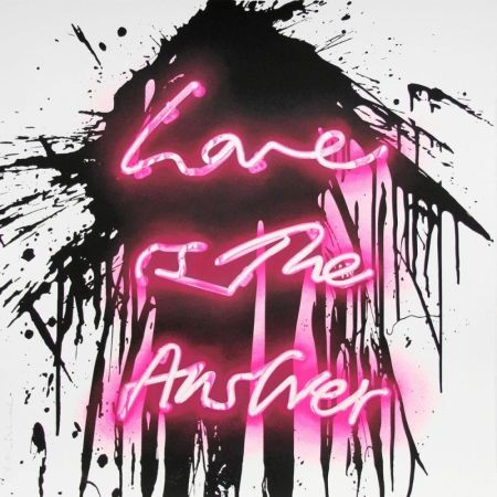 Сериграфия Mr Brainwash - Love on