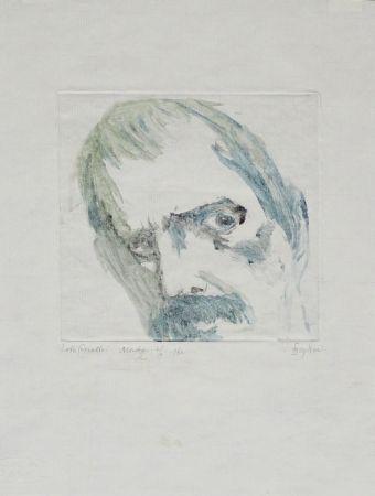 Монотип Baskin - Lovis Corinth