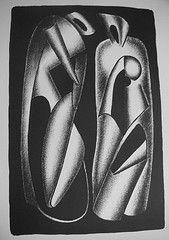 Литография Archipenko - Luminositè des formes (Les formes vivantes)