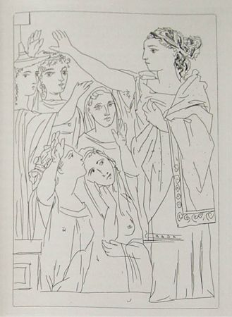 Гравюра Picasso - Lysistrata By Aristophanes (Signed Book)
