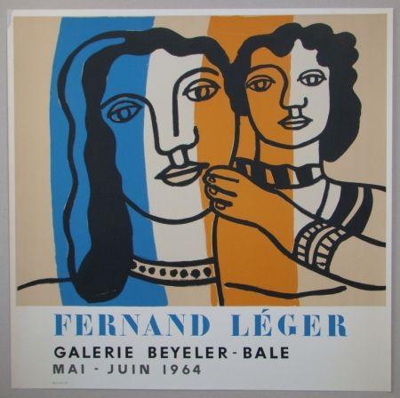 Литография Leger - Mère et enfant