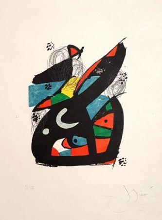 Литография Miró - Mélodie Acide