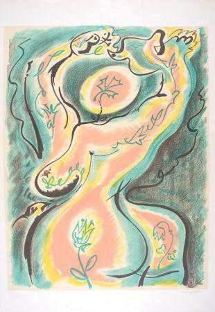 Литография Masson - Métamorphose de la femme