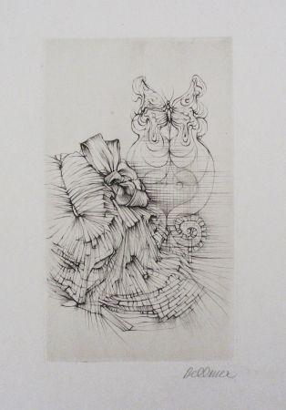 Офорт И Аквитанта Bellmer - Métamorphose (Papillon)