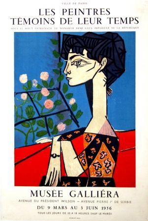 Афиша Picasso -  M  Jacqueline  Exposition Les Peintres  Témoins De Leur Temps  Musée Galiera