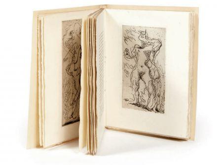 Иллюстрированная Книга Masson - M. Jouhandeau : XIMENÈS MALINJOUDE. Illustré d'eaux-fortes par André Masson (1927).