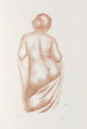 Литография Maillol - Maîtres et petits maîtres d'aujourd'hui.  Aristide Maillol, Sculpteur et Lithographe.