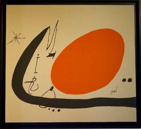 Литография Miró - Ma de Proverbis