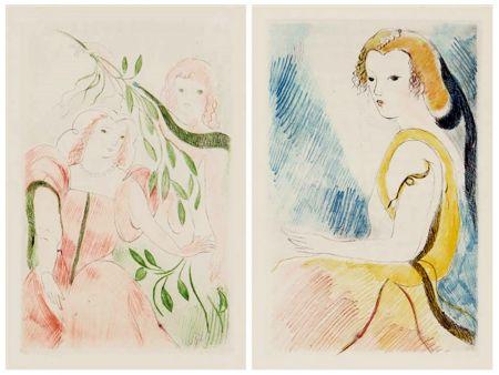 Иллюстрированная Книга Laurencin - Madame de Lafayette : LA PRINCESSE DE CLÈVES (1947)