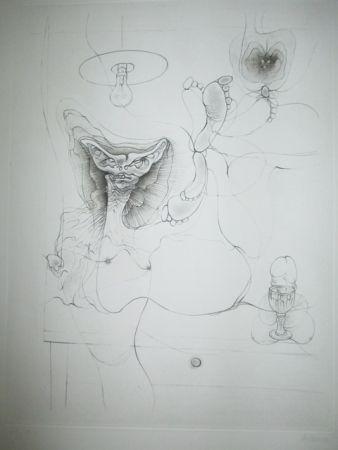 Гравюра Bellmer - Madame Et Servoi