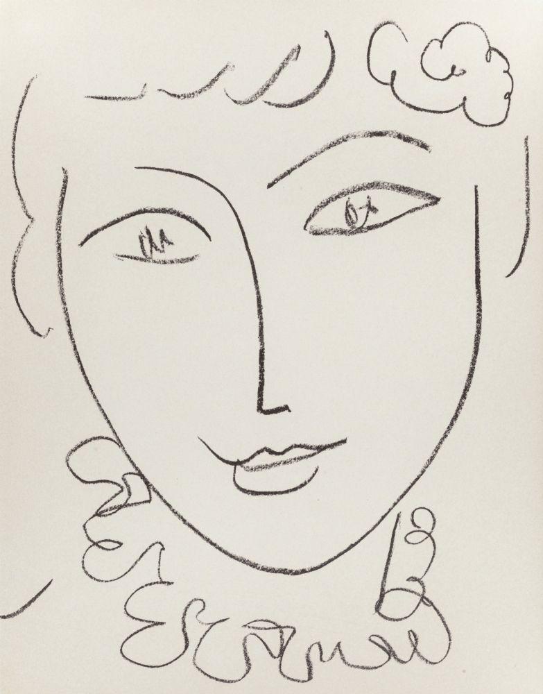 Литография Matisse - Madame Pompadour