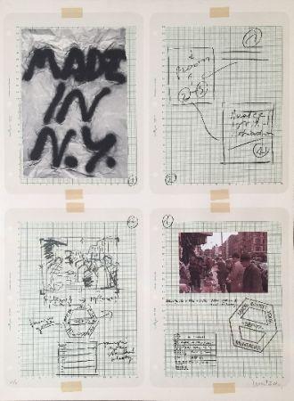 Литография Muntadas - Made in N.Y.