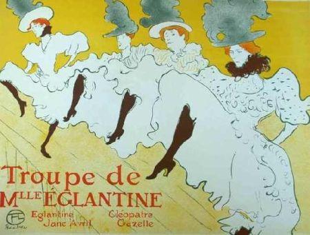 Литография Toulouse-Lautrec - Mademoiselle Eglantine