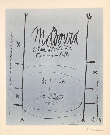 Линогравюра Picasso - Madoura 1961