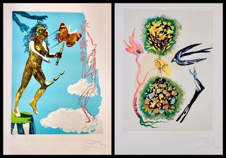 Литография Dali - Magic Butterfly & The Dream suite