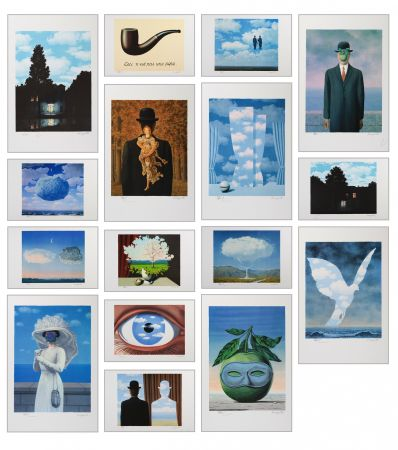 Литография Magritte - Magritte Lithographies VI