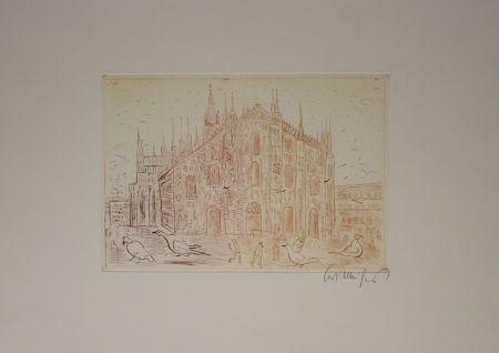 Гравюра Mühlenhaupt - Mailand (Milan)
