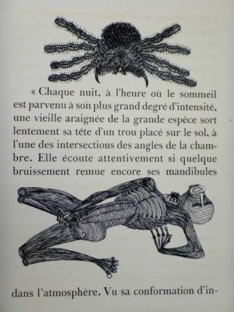 Иллюстрированная Книга Houplain - Maldoror (Les chants de Maldoror)