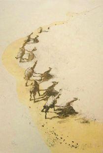 Литография Barcelo - Mali