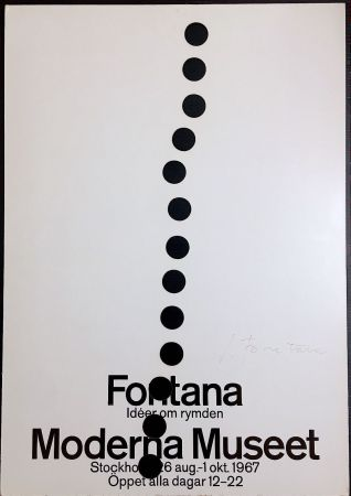 Сериграфия Fontana - Manifesto