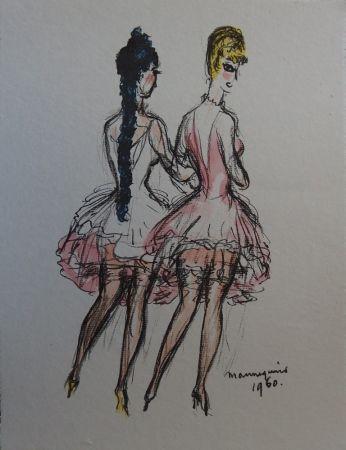 Литография Van Dongen - Mannequins 1960