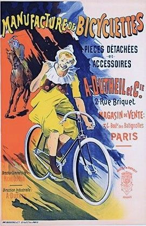 Литография Corrois - Manufacture De Bicyclettes