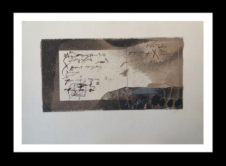 Офорт И Аквитанта Tàpies - Manuscrito