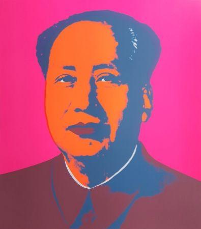 Сериграфия Warhol (After) - Mao