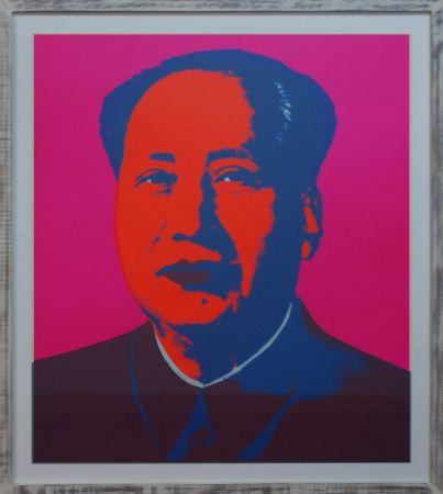 Сериграфия Warhol - MAO