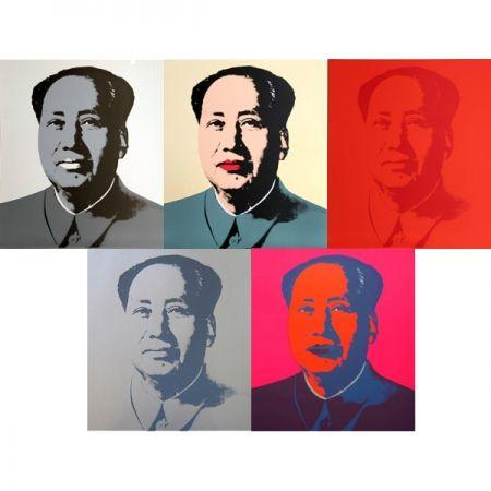 Сериграфия Warhol (After) - Mao - Portfolio
