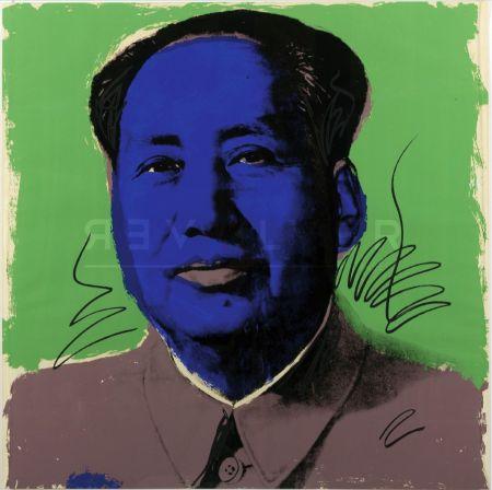 Сериграфия Warhol - Mao (Fs Ii.90)