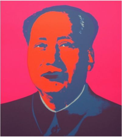 Сериграфия Warhol (After) - Mao Silkscreen Prints (by Sunday B. Morning)