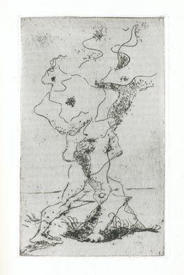 Офорт Masson - Marcel Jouhandeau : Ximenès Malinjoude