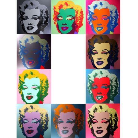 Сериграфия Warhol (After) - Marilyn - Portfolio