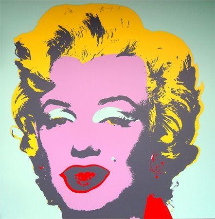 Сериграфия Warhol (After) - Marilyn 11.23