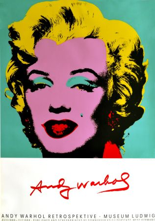 Афиша Warhol - Marilyn Monroe