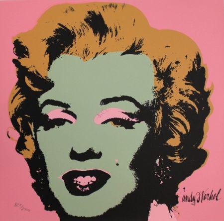 Сериграфия Warhol - Marilyn Monroe Olive