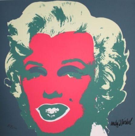 Сериграфия Warhol - Marilyn Monroe Pink