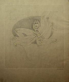 Офорт И Аквитанта Bellmer - Marionnette 2