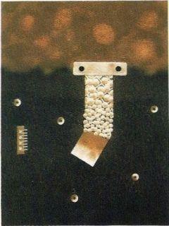 Гравюра Nissen - Mariposa obsidiana 6