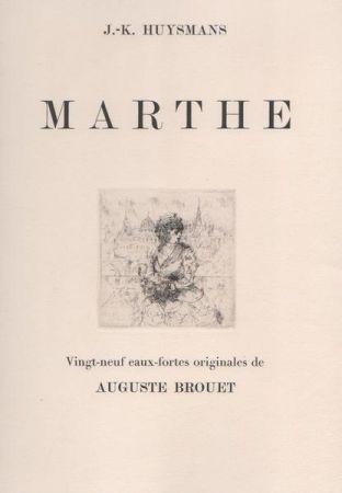 Офорт Brouet - Marthe