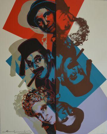 Сериграфия Warhol - Marx Brothers (FS II232) Trial Proof