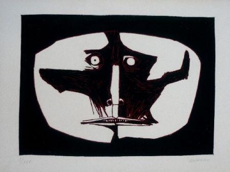 Гравюра Guayasamin - Mascara 1 variante