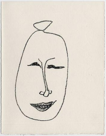 Литография Matisse - Masque esquimau n° 9. 1947  (Pour Une Fête en Cimmérie)