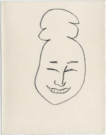 Литография Matisse - Masque esquimo n° 4. 1947  (Pour Une Fête en Cimmérie)