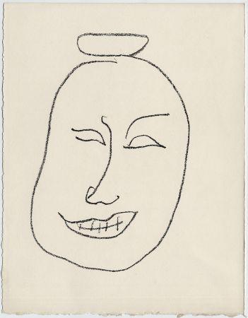 Литография Matisse - Masque esquimo n° 8. 1947 (Pour Une Fête en Cimmérie)
