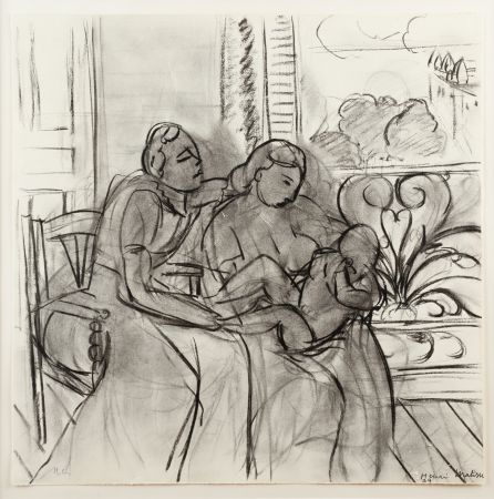 Литография Matisse (After) - Maternidad