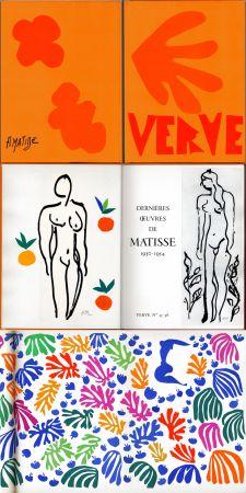 Иллюстрированная Книга Matisse - Matisse dernières oeuvres 1950 - 1954 (VERVE Vol. IX, No. 35-36. 1958)