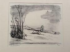 Гравюра Asselin - Maurice Asselin.  Dix estampes originales.